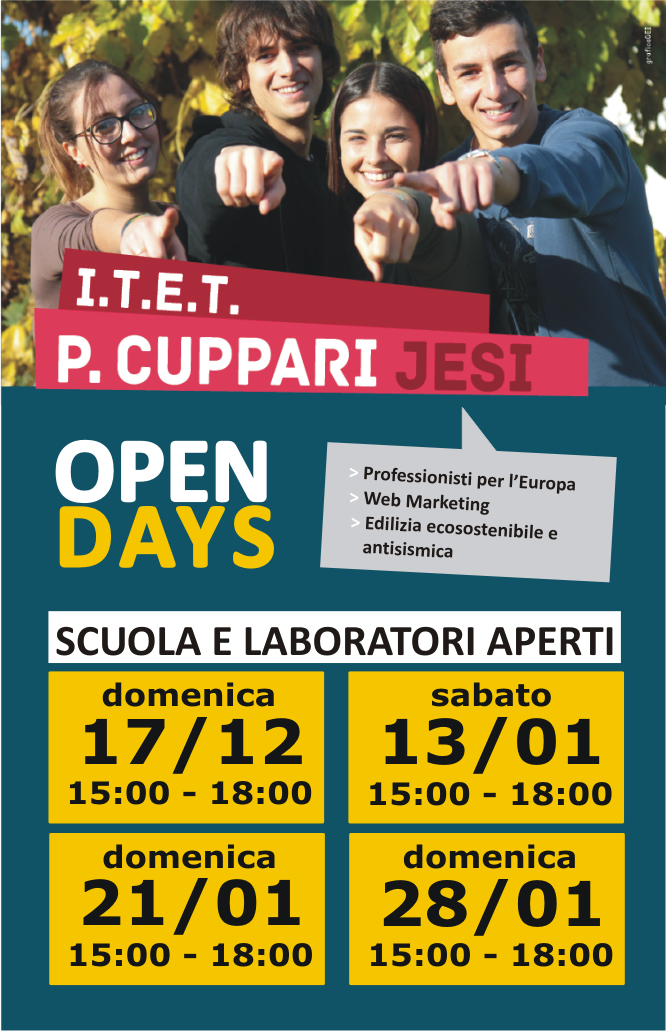 Open day Cuppari 2017-18